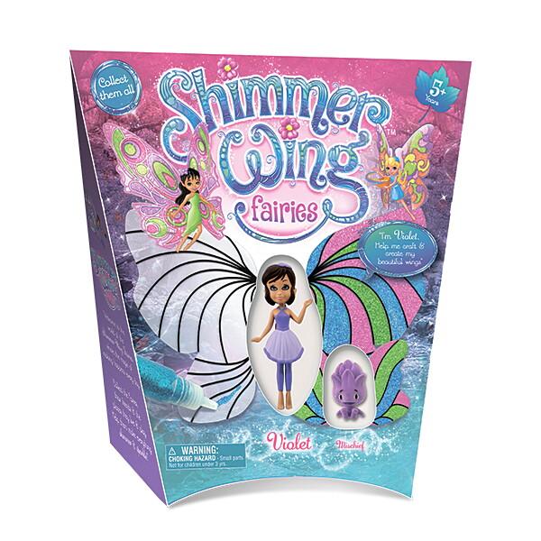 0006SWFb Игровой набор Shimmer Wing Фея Фиалка