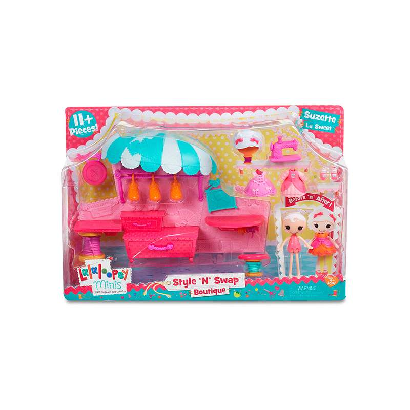 541387  Игрушка кукла Mini Lalaloopsy с интерьером, в асс-те