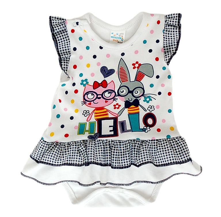 Боди-платье 037 к/р