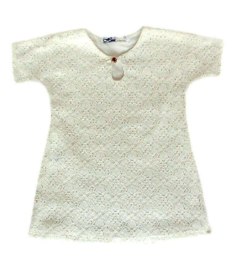 """17671 Рубашка для крещения """"Dantel"""""""