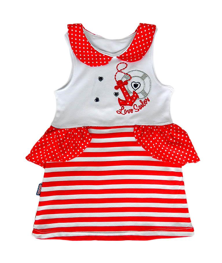 Платье 667 Морячка