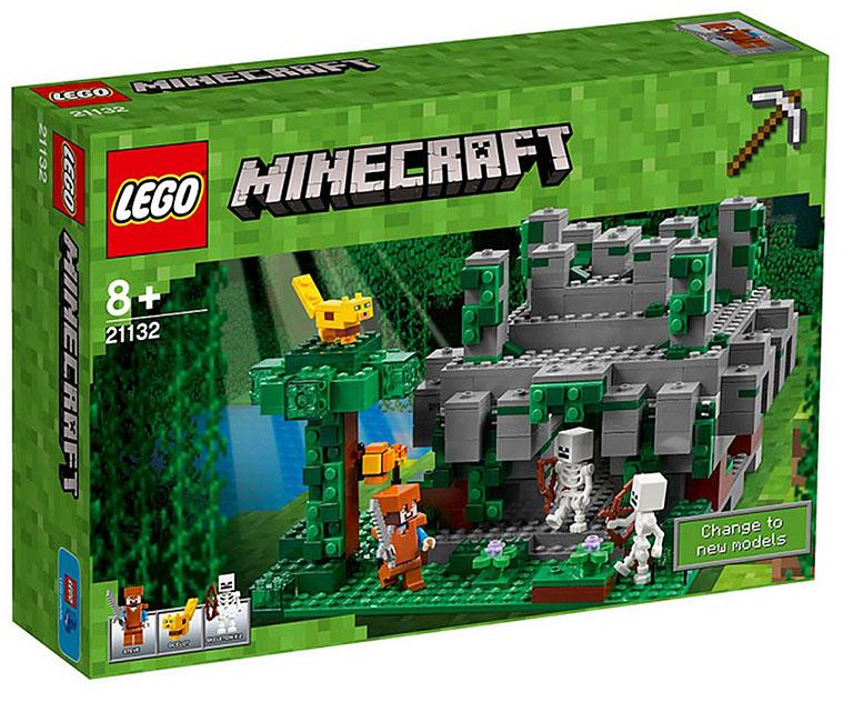 """21132 Конструктор LEGO Minecraft """"Храм в джунглях"""""""