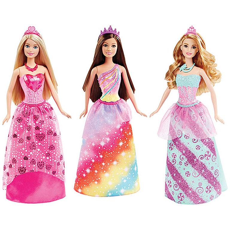 DHM49 BARBIE® Куклы-принцессы в ассортименте