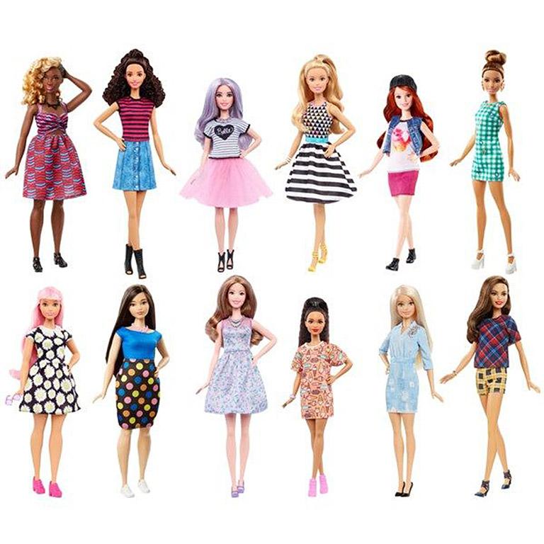 """FBR37 Barbie® Куклы из серии """"Игра с модой"""" в ассортименте"""