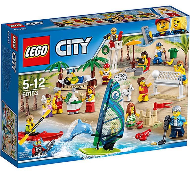 """60153 CITY """"Отдых на пляже - жители LEGO CITY"""""""