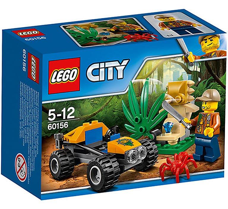 """60156 CITY """"Багги для поездок по джунглям"""""""