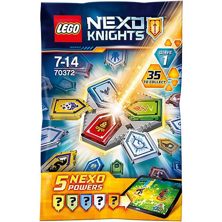 """70372 Nexo Knights """"Комбо NEXO Силы - 1 полугодие"""""""