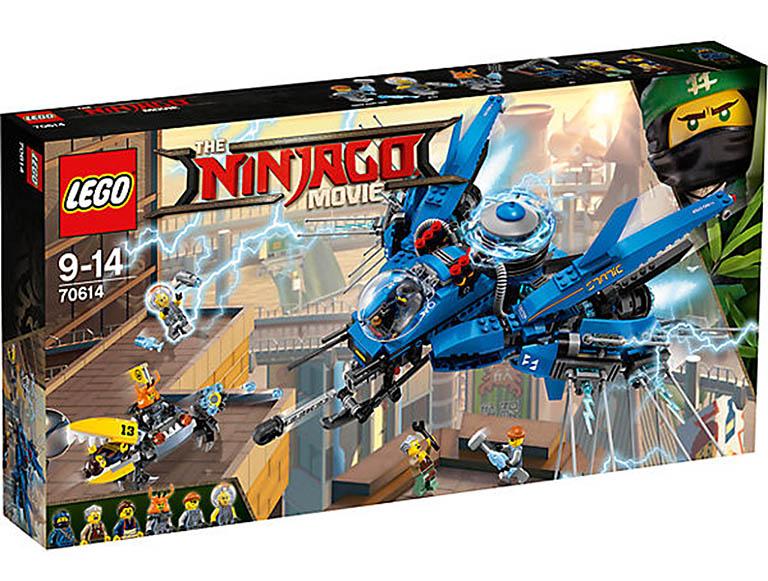 """70614 Ninjago """"Самолёт-молния Джея"""""""
