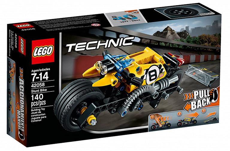 """42058 Technic """"Мотоцикл для трюков"""""""