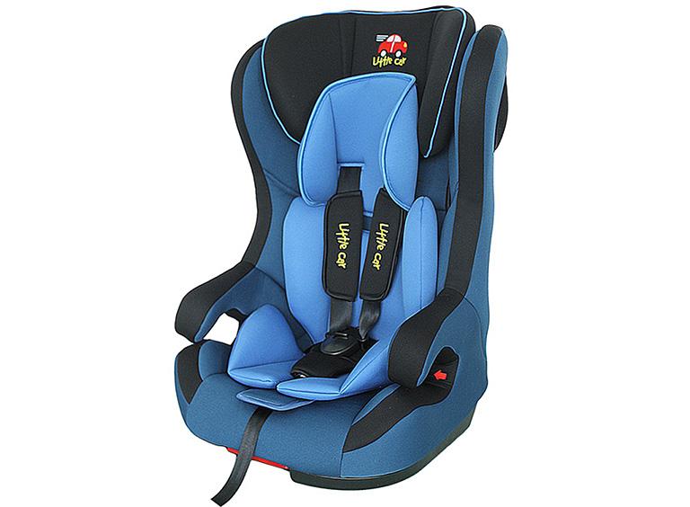 Автокресло детское 9-36кг. Little Car 523 ISOFIX синий 124491