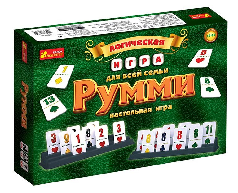12120028 Настольная игра Румми