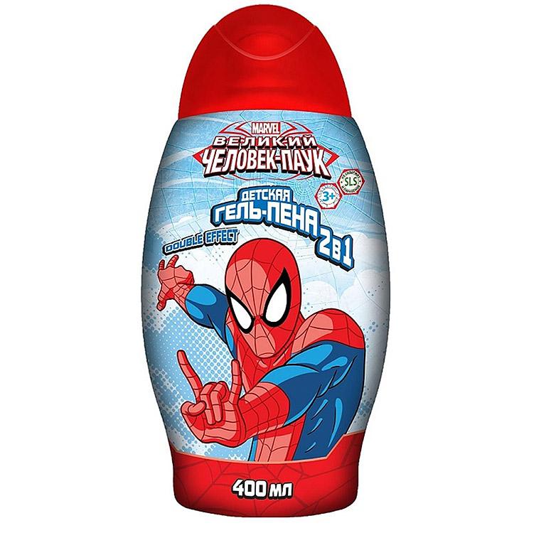 Человек-паук Гель-пена 2в1, 400мл