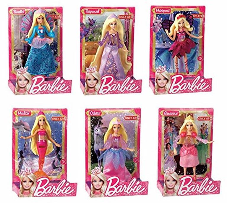 V7050 Barbie Сказочные мини-куклы в асc