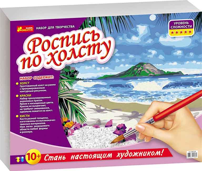 15129032Р Роспись по холсту - Тропический рай