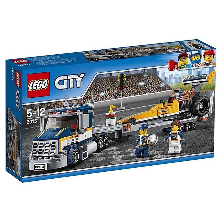 """60151 CITY """"Грузовик для перевозки драгстера"""""""