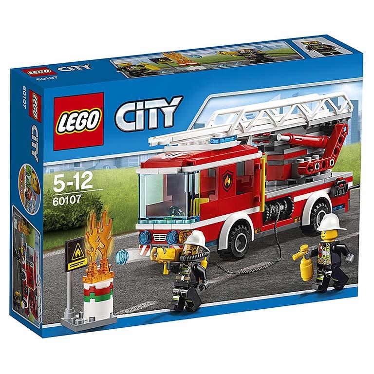 """60107 CITY """"Пожарный автомобиль с лестницей"""""""