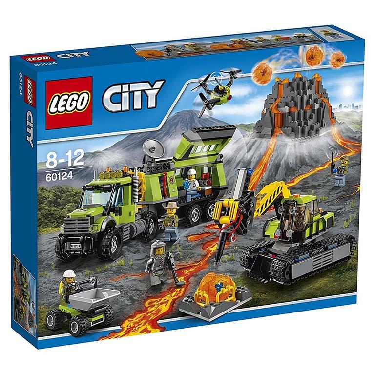 """60124 CITY """"База исследователей вулканов"""""""