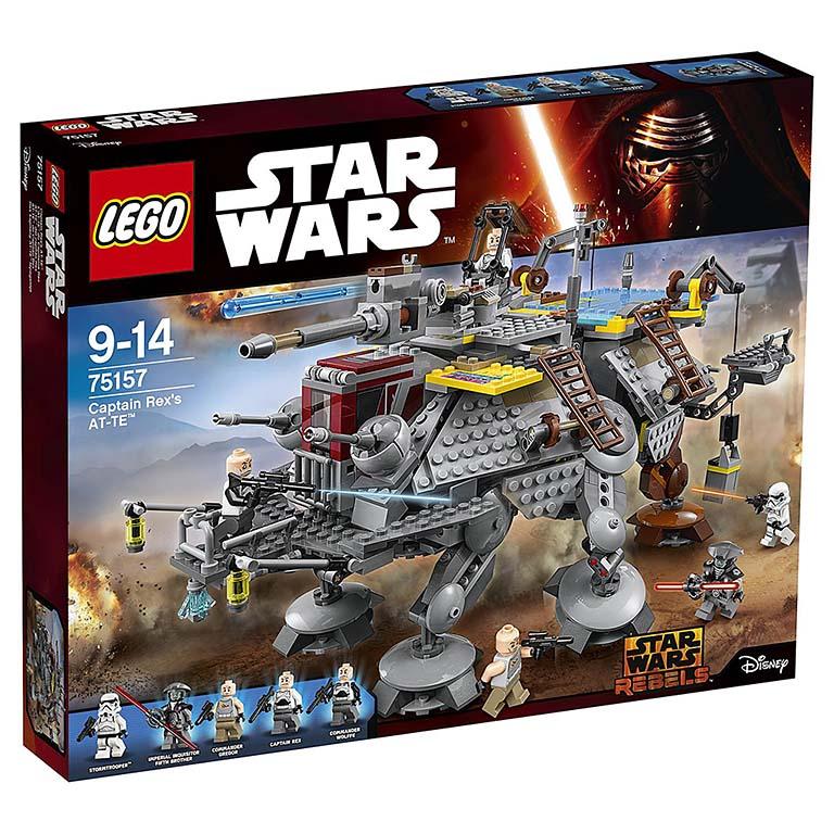 "75157 STAR WARS ""Шагающий штурмовой вездеход AT-TE капитана Рекса"""