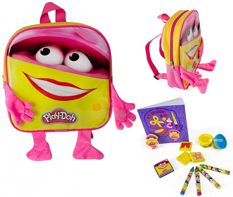 CPDO091 Play-doh Рюкзачок для девочки c ручками и ножками
