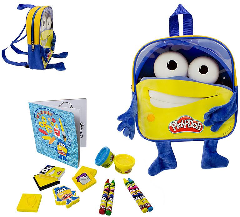 CPDO090 Play-doh Рюкзачок для мальчика с ручками и ножками