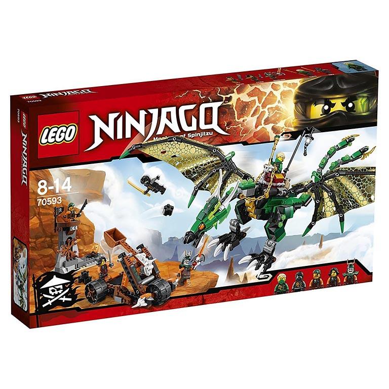 """70593 Ninjago """"Зелёный Дракон"""""""