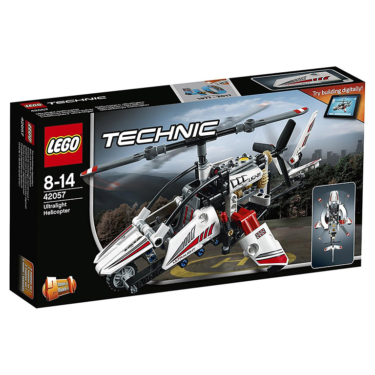 """42057 Technic """"Сверхлёгкий вертолёт"""""""