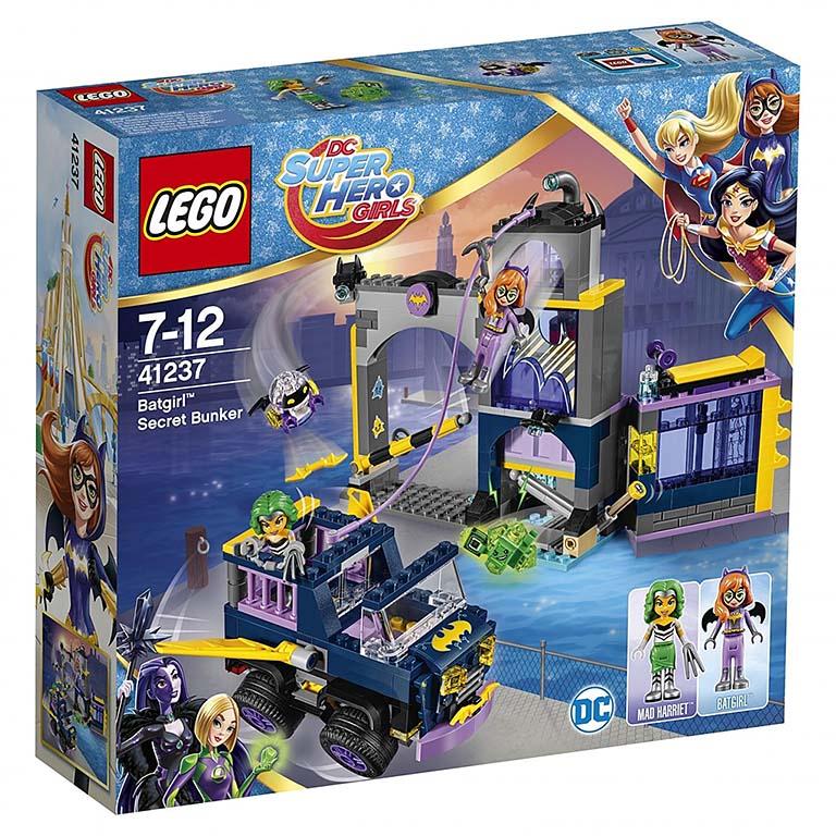 """41237 Super Hero Girls """"Секретный бункер Бэтгёрл"""""""