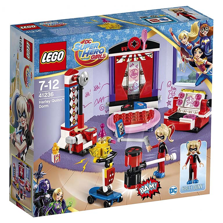 "41236 Super Hero Girls ""Дом Харли Квинн"""