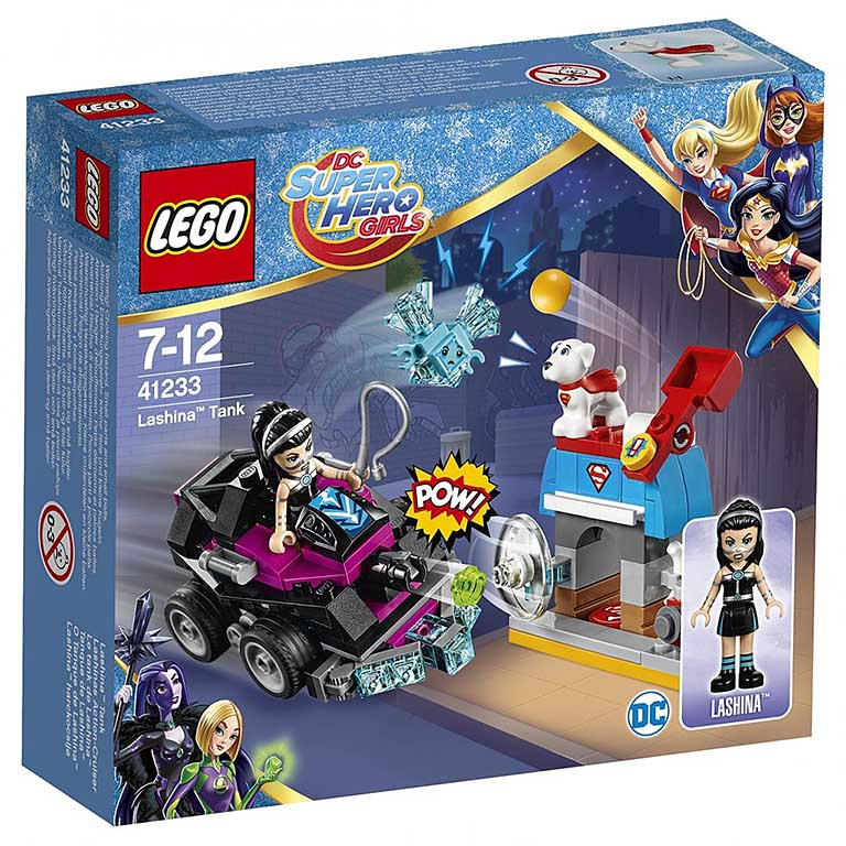 "41233 Super Hero Girls ""Танк Лашины"""