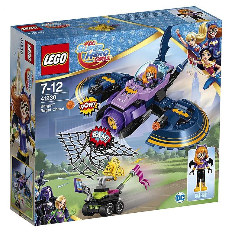 "41230 Super Hero Girls ""Бэтгёрл: погоня на реактивном самолёте"""