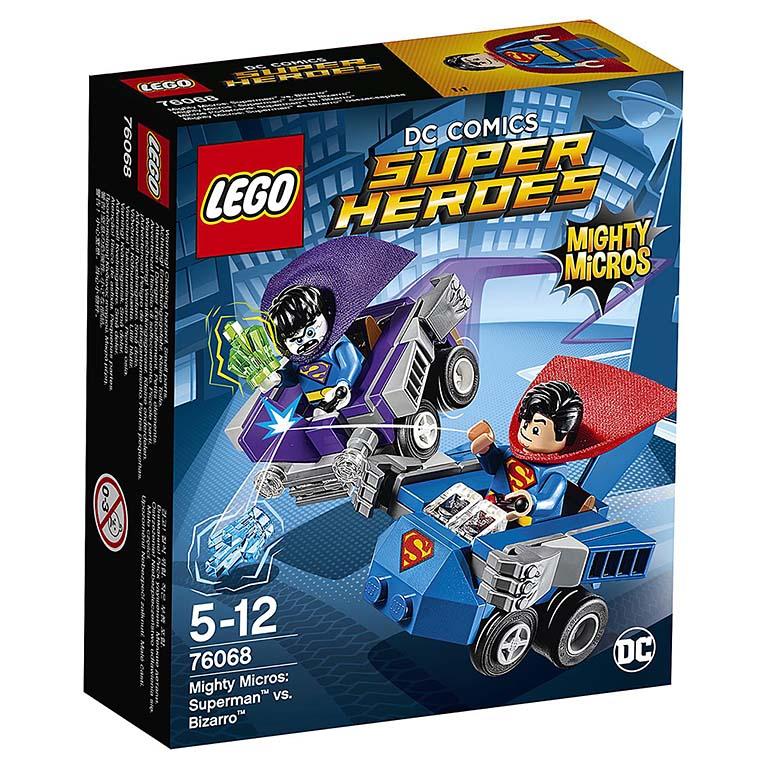 76068 Super Heroes Mighty Micros: Супермен против Бизарро