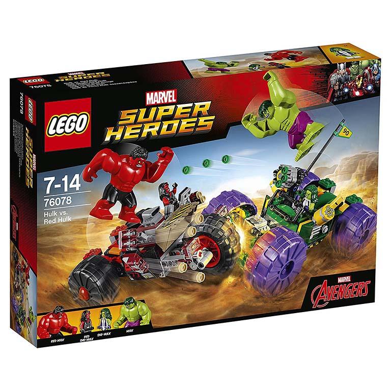 "76078 Super Heroes ""Халк против Красного Халка"""