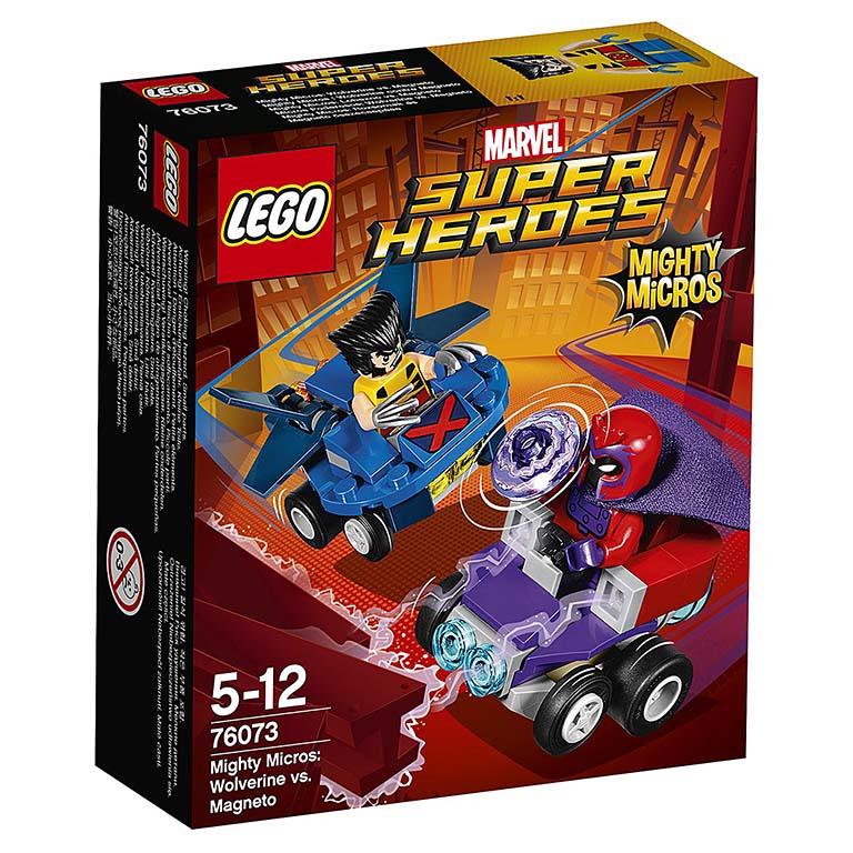 76073 Super Heroes Mighty Micros: Росомаха против Магнето