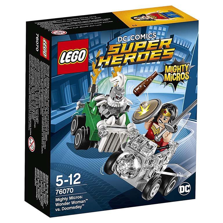 76070 Super Heroes Mighty Micros: Чудо-женщина против Думсдэя