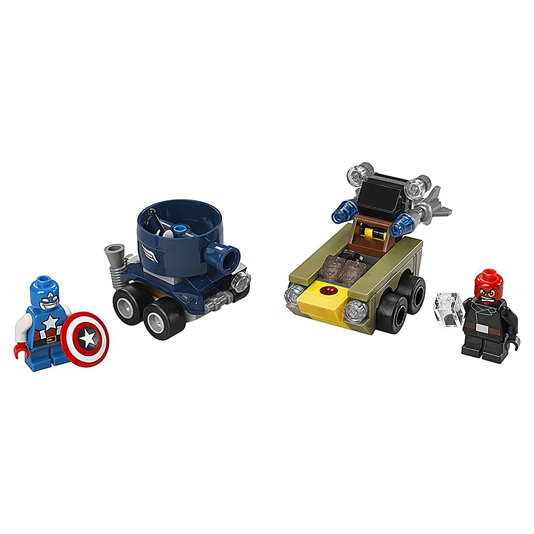 "76065 Super Heroes ""Капитан Америка против Красного Черепа"""