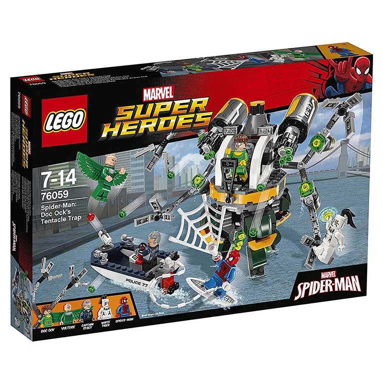 "76059 Super Heroes ""Человек-паук: в ловушке Доктора Осьминога"""