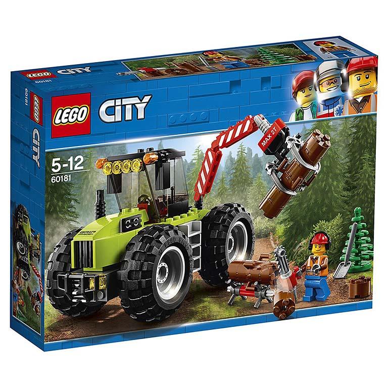"""60181 CITY """"Лесной трактор"""""""