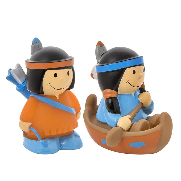 """25161 Набор игрушек-брызгалок для ванны """"Индейцы"""""""