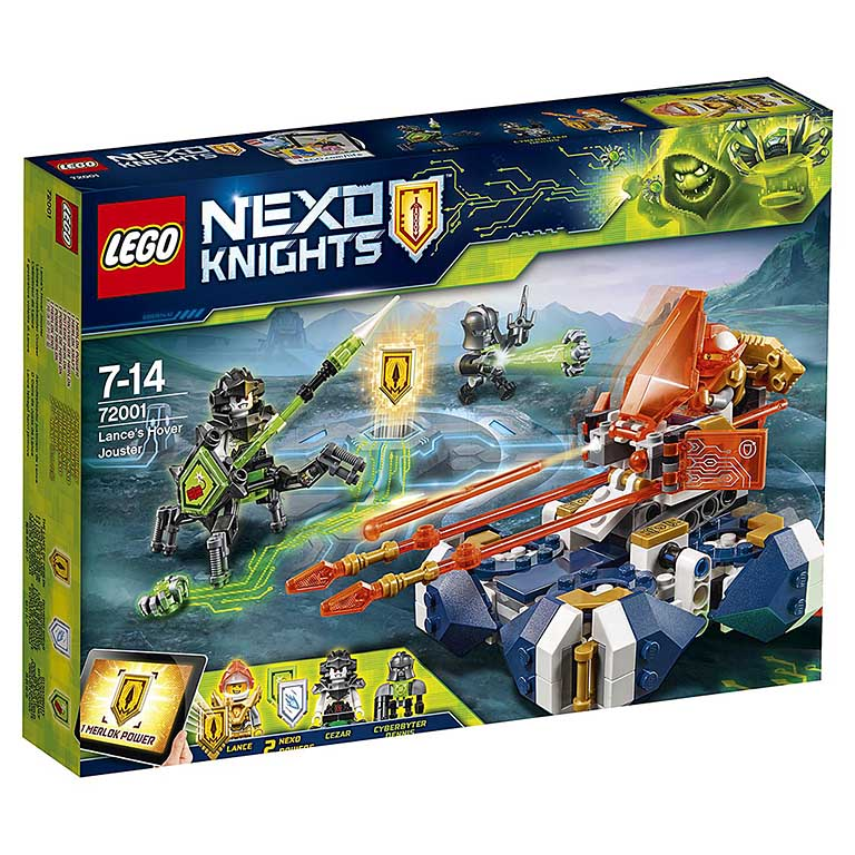 """72001 Nexo Knights """"Летающая турнирная машина Ланса"""""""
