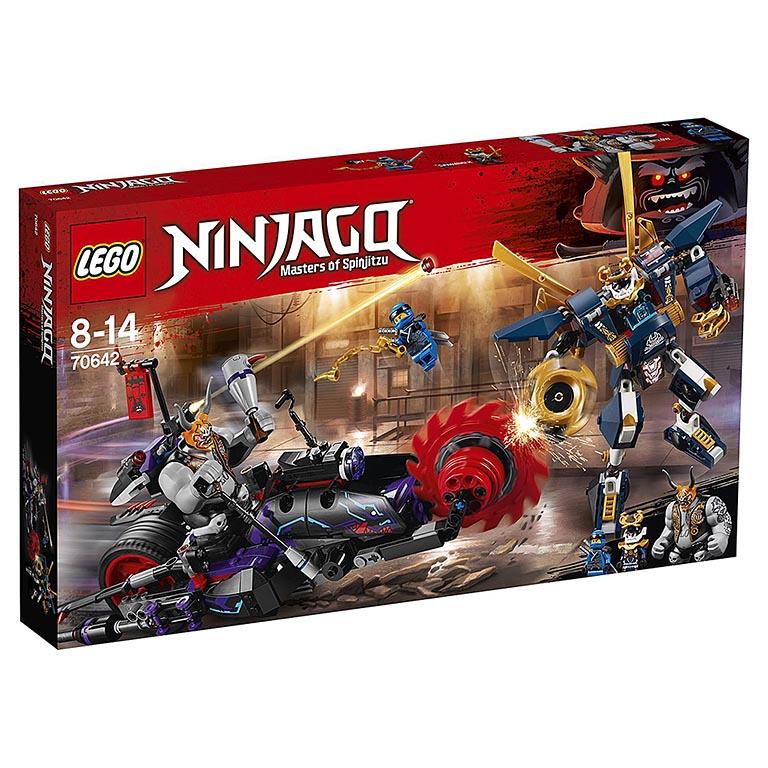 """70642 Ninjago """"Киллоу против Самурая Икс"""""""