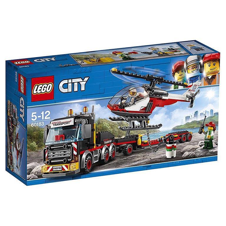 """60183 CITY """"Перевозчик вертолета"""""""