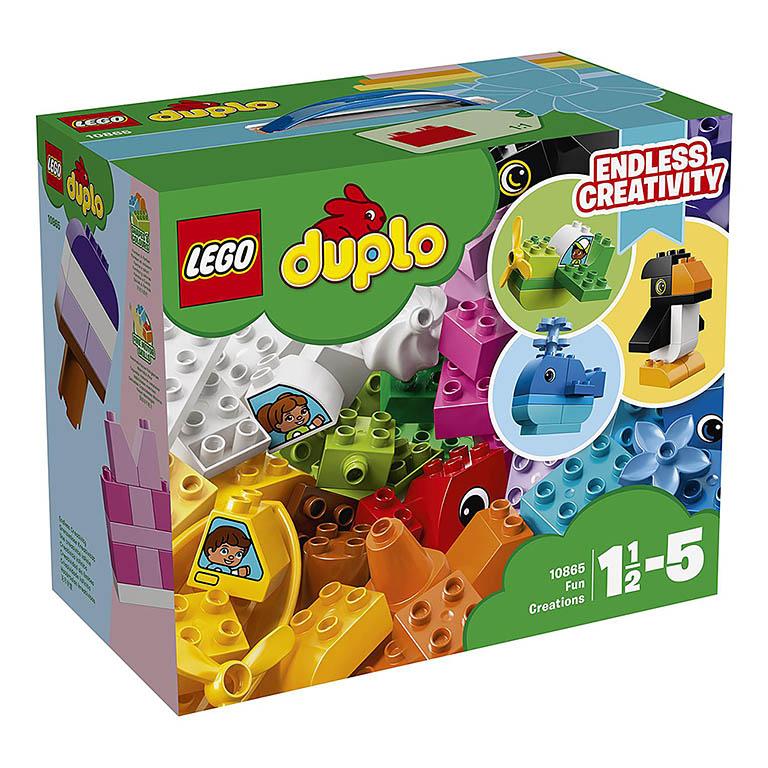 "10865 DUPLO ""Весёлые кубики"""