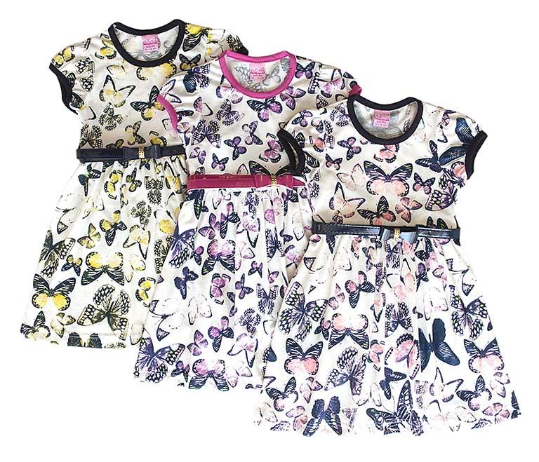 Платье 598 трикотаж (1-4лет)