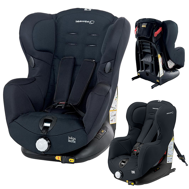 Автокресло ISEOS ISOFIX Total Black