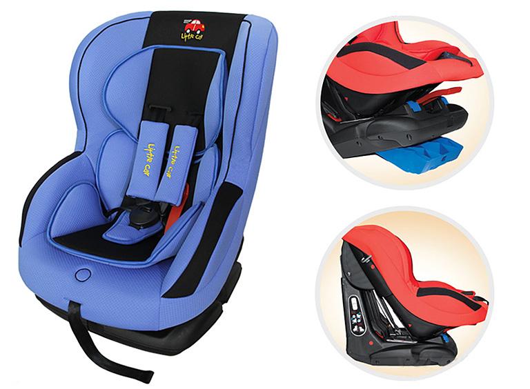 Автокресло детское 0-18кг. Little Car LB-586 синий