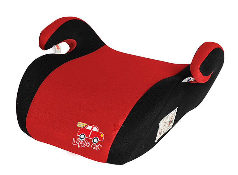 Бустер детский 22-36кг. Little Car Smart красный