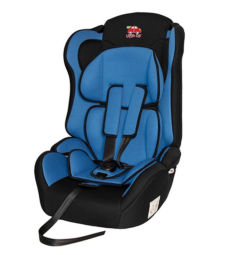 Автокресло детское 9-36кг. Little Car Comfort синий