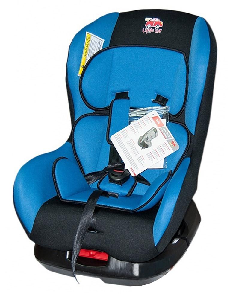 Автокресло детское 0-18кг. Little Car Soft синий 125971