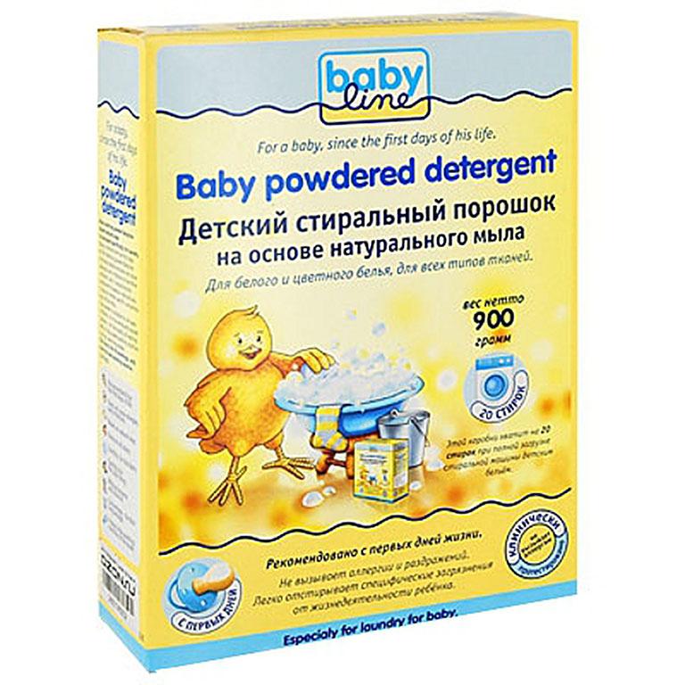 BABYLINE Детский стиральный порошок 900г