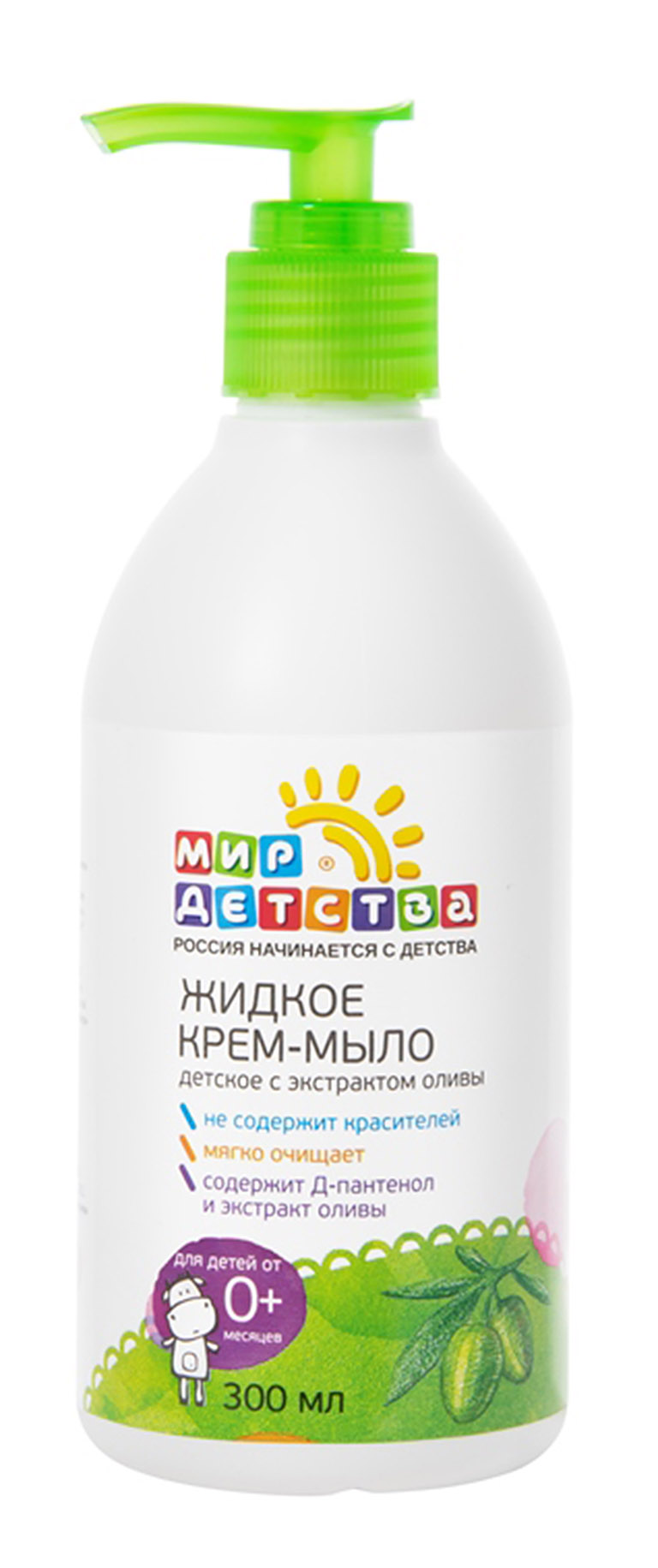 40420 Жидкое крем-мыло с экстрактом оливы, 300мл